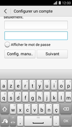 Huawei Ascend Y550 - E-mail - Configuration manuelle (outlook) - Étape 7