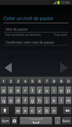 Samsung Galaxy Note 2 - Premiers pas - Créer un compte - Étape 15