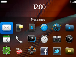 BlackBerry 9900 Bold Touch - E-mail - Sending emails - Step 3