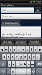 Sony Ericsson Xperia Neo V - E-mail - e-mail versturen - Stap 4