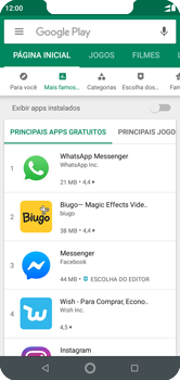 Motorola One - Aplicativos - Como baixar aplicativos - Etapa 5