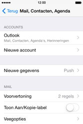 Apple iPhone 4s iOS 8 - E-mail - Handmatig Instellen - Stap 9