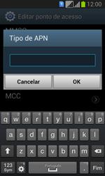 Samsung Galaxy Fresh Duos - Internet no telemóvel - Como configurar ligação à internet -  13