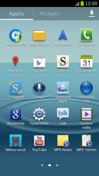 Samsung Galaxy S3 4G - Aller plus loin - Restaurer les paramètres d'usines - Étape 3