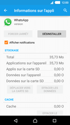 Sony Xperia M4 Aqua - Applications - Supprimer une application - Étape 6