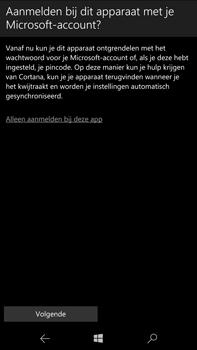 Microsoft Lumia 950 XL - E-mail - Handmatig instellen - Stap 10