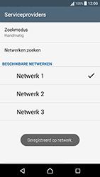 Sony Xperia X Performance (F8131) - Netwerk - Handmatig een netwerk selecteren - Stap 12