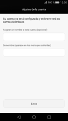 Huawei P8 - E-mail - Configurar Outlook.com - Paso 9