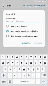 Samsung J730F Galaxy J7 (2017) (DualSIM) - Wifi - handmatig instellen - Stap 7