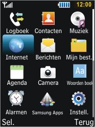 Samsung C3350 Xcover 2 - Internet - Handmatig instellen - Stap 13