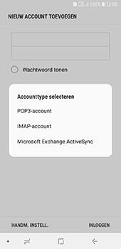 Samsung Galaxy A6 - E-mail - e-mail instellen: IMAP (aanbevolen) - Stap 9