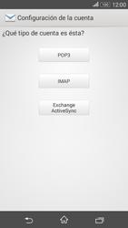 Sony Xperia E4g - E-mail - Configurar correo electrónico - Paso 7