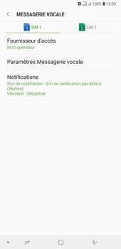 Samsung Galaxy A7 (2018) - Messagerie vocale - configuration manuelle - Étape 9