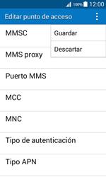 Samsung Galaxy Core Prime - Mensajería - Configurar el equipo para mensajes multimedia - Paso 15