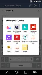 LG K8 - E-mail - envoyer un e-mail - Étape 10