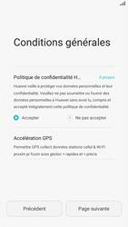 Huawei P8 Lite - Premiers pas - Créer un compte - Étape 7