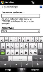 HTC T7373 Touch Pro II - E-mail - Handmatig instellen - Stap 11