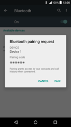 Alcatel Idol 3 (4.7) - Bluetooth - Pair with another device - Step 7