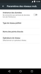 Motorola Moto E (1st Gen) (Lollipop) - Aller plus loin - Désactiver les données à l'étranger - Étape 7