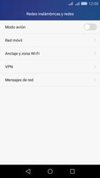 Huawei Huawei Y6 - Funciones básicas - Activar o desactivar el modo avión - Paso 4