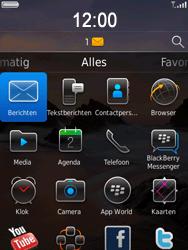 BlackBerry 9800 Torch - Instellingen - ontvangen via SMS - Stap 9