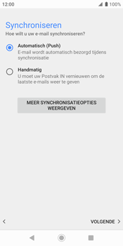 Sony xperia-xz2-h8216-android-pie - E-mail - Handmatig Instellen - Stap 14