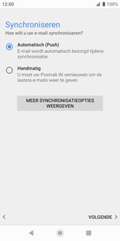 Sony xperia-xz2-h8216-android-pie - E-mail - Handmatig Instellen - Stap 14