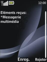 Nokia 2730 classic - MMS - configuration automatique - Étape 6