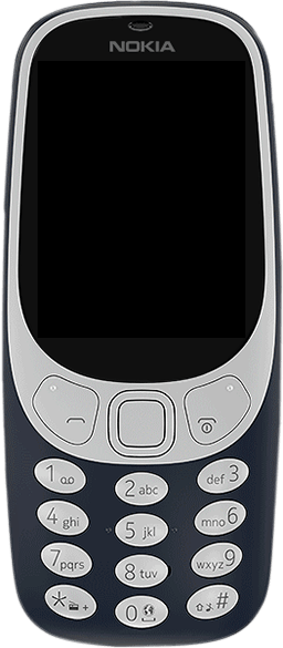 Nokia 3310 - Premiers pas - Découvrir les touches principales - Étape 2