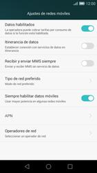 Huawei Ascend G7 - Mensajería - Configurar el equipo para mensajes multimedia - Paso 6