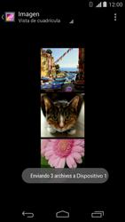 Motorola Moto X (2ª Gen) - Bluetooth - Transferir archivos a través de Bluetooth - Paso 13