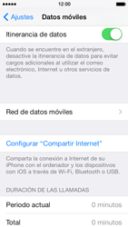 Apple iPhone 5s - Internet - Configurar Internet - Paso 5
