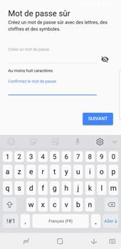 Samsung Galaxy S9 - Applications - Créer un compte - Étape 13