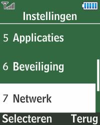 Samsung E1270 - Buitenland - Bellen, sms en internet - Stap 4