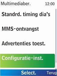 Nokia X2-00 - MMS - Automatisch instellen - Stap 10