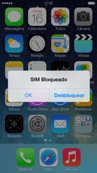 Apple iPhone iOS 7 - Funções básicas - Como reiniciar o aparelho - Etapa 6