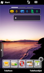 Samsung I8000 Omnia II - Internet - aan- of uitzetten - Stap 1