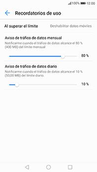 Huawei P10 Plus - Internet - Ver uso de datos - Paso 9