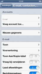Apple iPhone 5 - E-mail - handmatig instellen - Stap 13