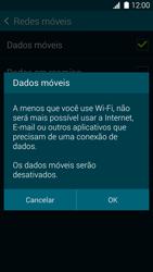 Samsung G900F Galaxy S5 - Rede móvel - Como ativar e desativar uma rede de dados - Etapa 7