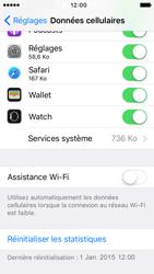 Apple iPhone 5s iOS 9 - Wi-Fi - Désactiver Assistance WiFi - Étape 6