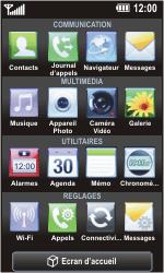 LG GC900 Viewty Smart - Messagerie vocale - Configuration manuelle - Étape 3