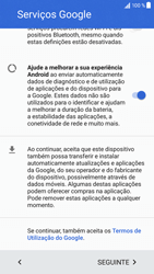 Sony Xperia XZ - Android Nougat - Primeiros passos - Como ligar o telemóvel pela primeira vez -  13