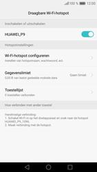 Huawei P9 (Model EVA-L09) - WiFi - Mobiele hotspot instellen - Stap 11