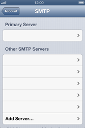 Apple iPhone 4 S - E-mail - Manual configuration - Step 17