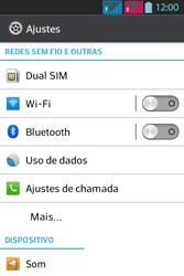LG Optimus L5 Dual - Internet - Como configurar seu celular para navegar através de Vivo Internet - Etapa 6