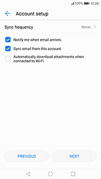 Huawei P10 Plus - Email - Manual configuration IMAP without SMTP verification - Step 16