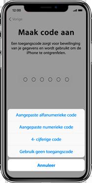 Apple iphone-11-pro-max-model-a2218 - Instellingen aanpassen - Activeer het toestel en herstel jouw iCloud-data - Stap 13