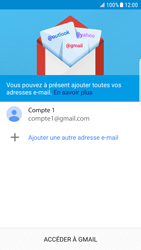 Samsung Galaxy S6 Edge - Android Nougat - E-mail - Configurer l