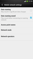 HTC Desire 601 - Network - Usage across the border - Step 5